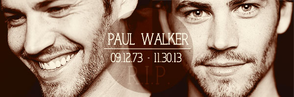 VLOG №7: R.I.P. Paul Walker
